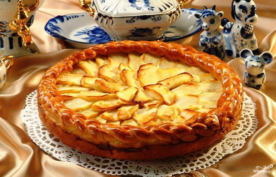 Мультиварка пирог с яблоками