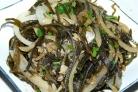 Жареная морская капуста