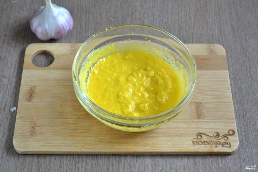 Картошка под чесночным соусом - фото шаг 7