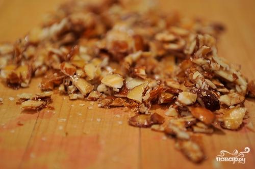 Десерт из вишни и орехов - фото шаг 5