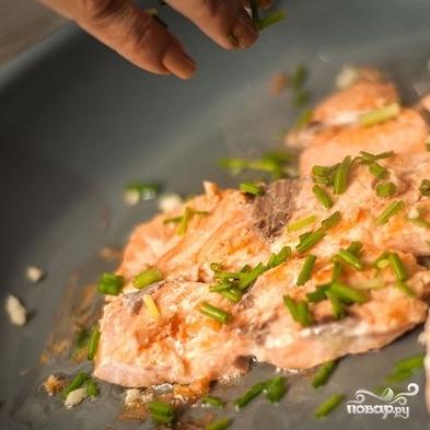 Паста с лососем - фото шаг 4