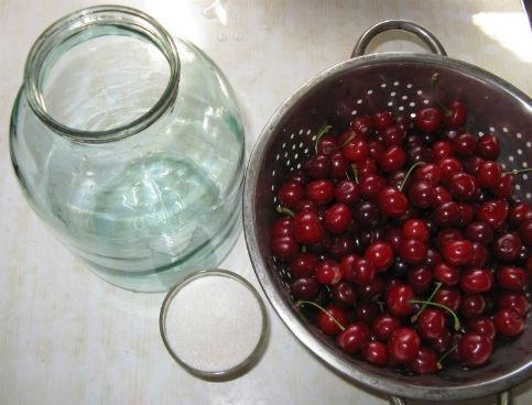 Рецепт Компот из вишни на зиму без стерилизации