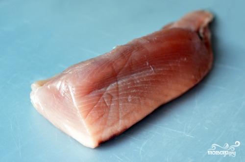 Филе тунца в духовке - фото шаг 1