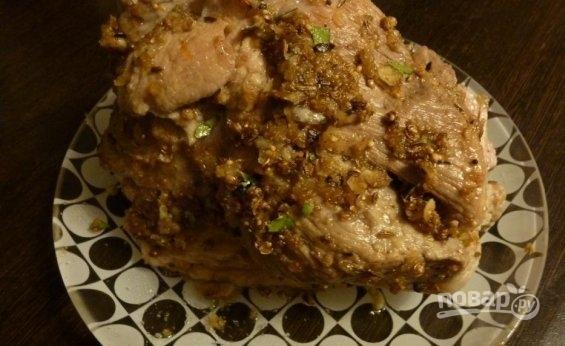 Салат с горошком и колбасой и капустой рецепт 132