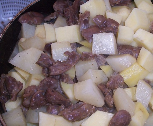 Блюда с копчеными ребрышками фото рецепт