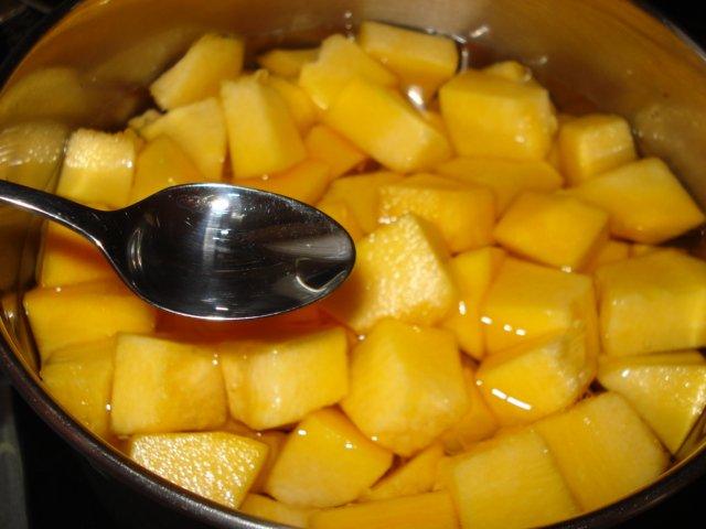 Рецепт Компот из тыквы с апельсином на зиму
