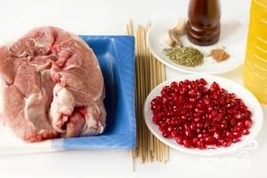 Рецепт Шашлык на шпажках в духовке