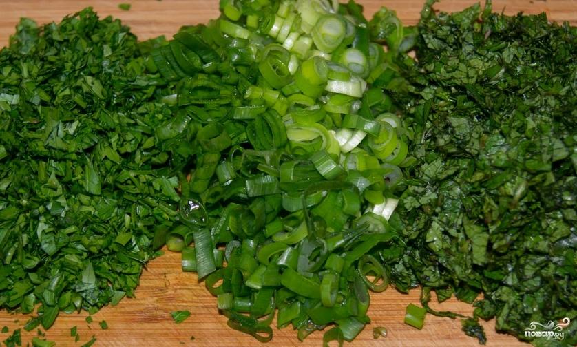 Салат из консервированной чечевицы - фото шаг 1