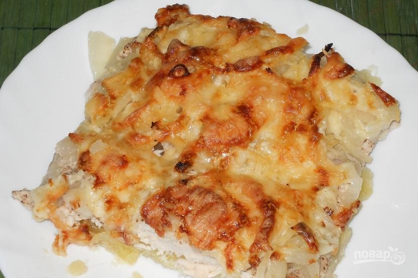 картошка овощи в духовке рецепт