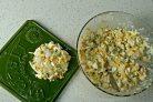 Салат из курицы и кукурузы