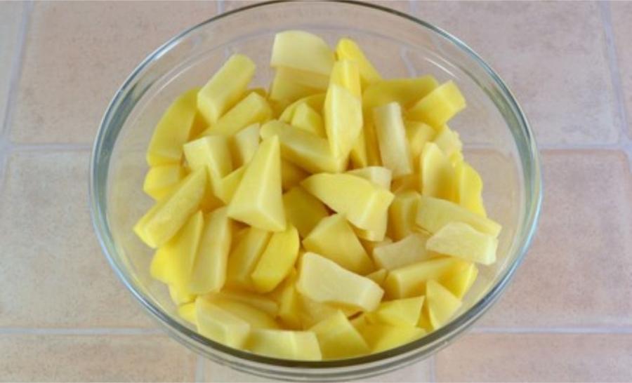 Рецепт Курица с картошкой в сметане