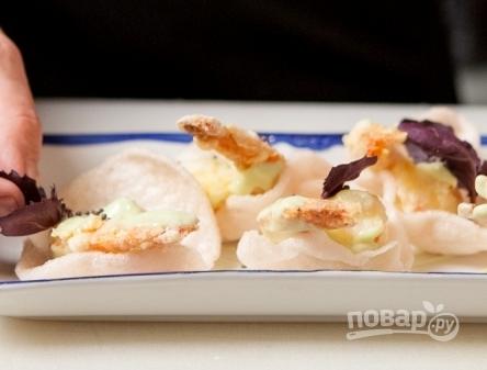 Креветки в соусе васаби - фото шаг 8