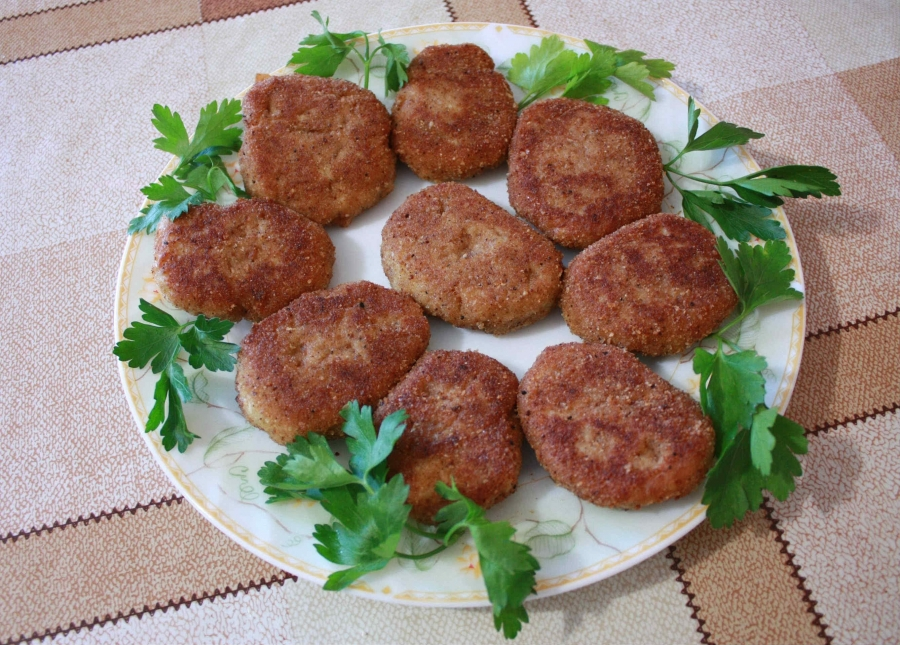 Котлеты из гречки с грибами - фото шаг 5