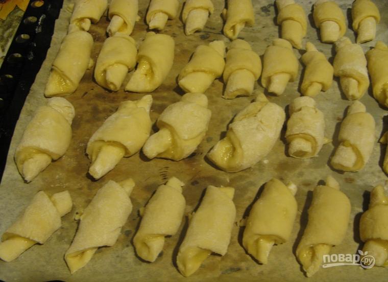 Печенье треугольники с сахаром рецепт с фото