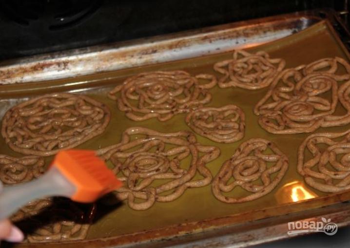 Тетеры с медом или кружевные пряники - фото шаг 6