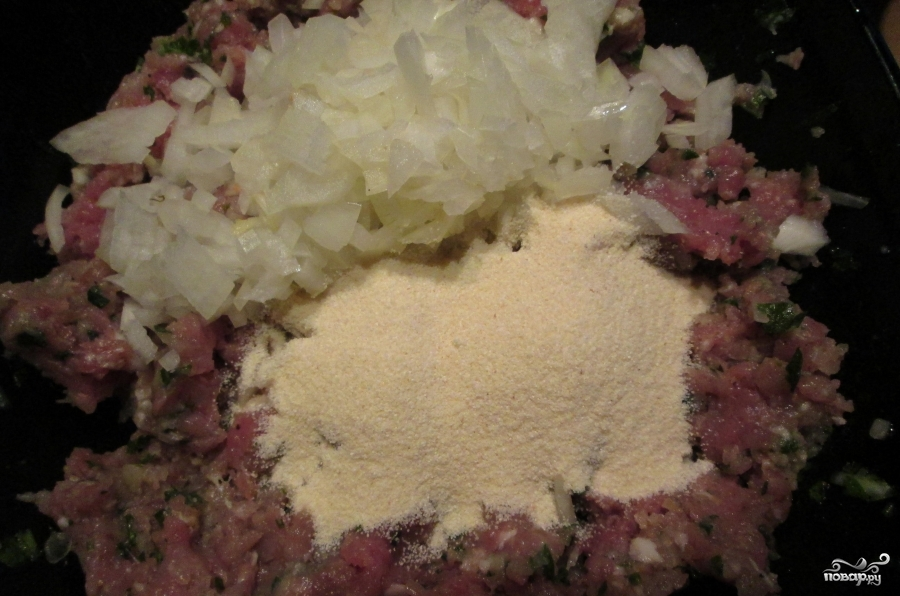 Котлеты из свинины в духовке - фото шаг 3