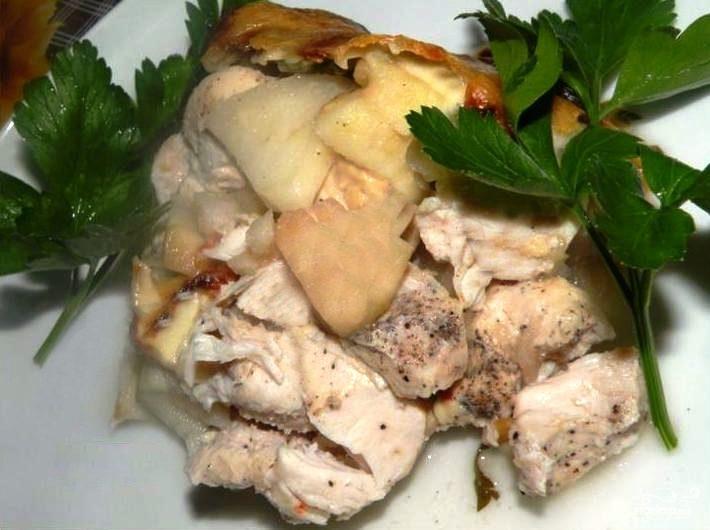 куриное филе рецепты в духовке рецепт с фото