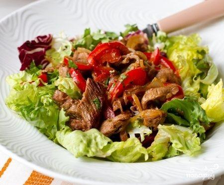 салат будапешт из говядины рецепт с фото