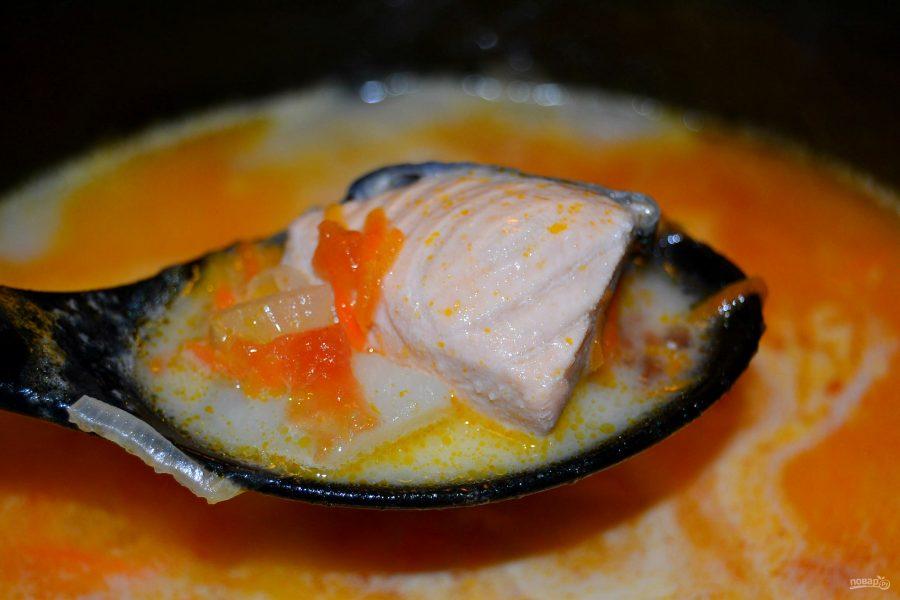 Суп из кеты