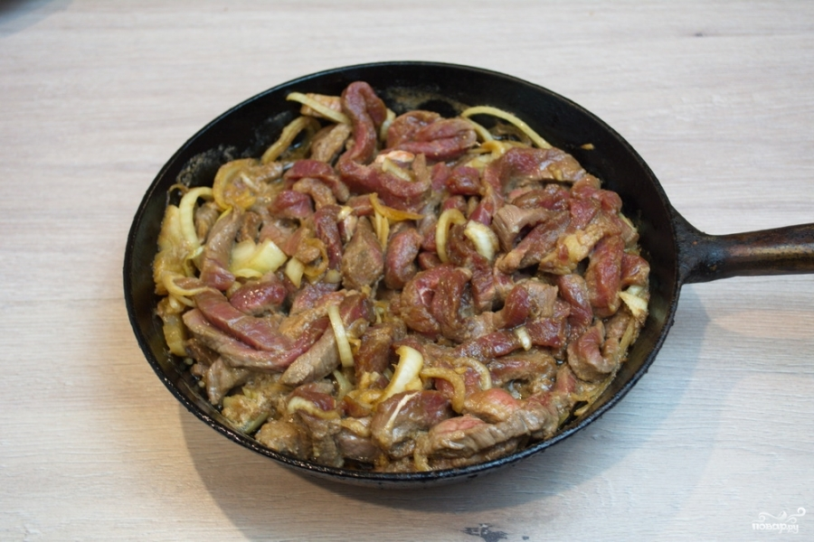 Мясо под соусом терияки - фото шаг 6