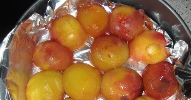 Персиковый пудинг - фото шаг 3
