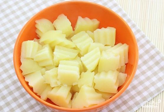 Рецепт Салат из картофеля без майонеза