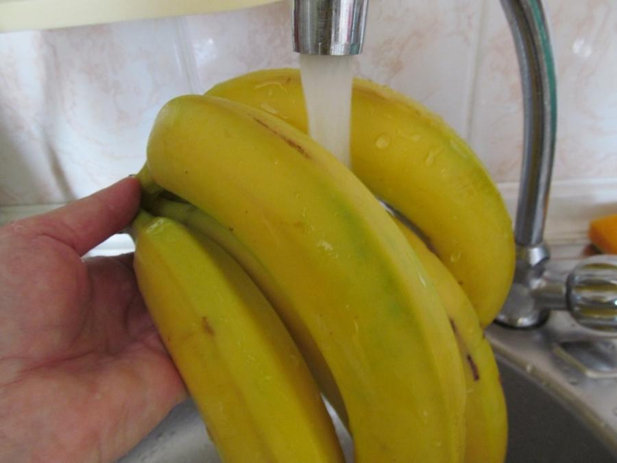Квас из банановой кожуры - фото шаг 1