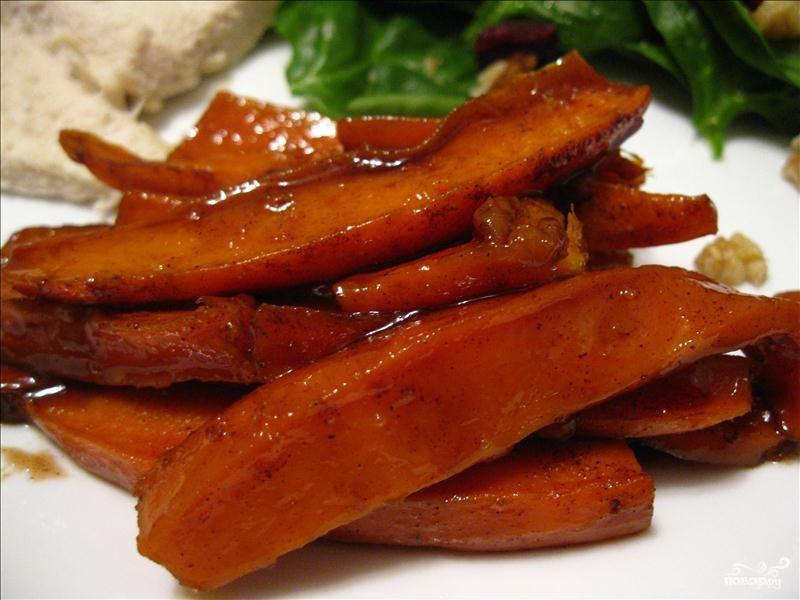 Рецепт Сладкий картофель в карамели