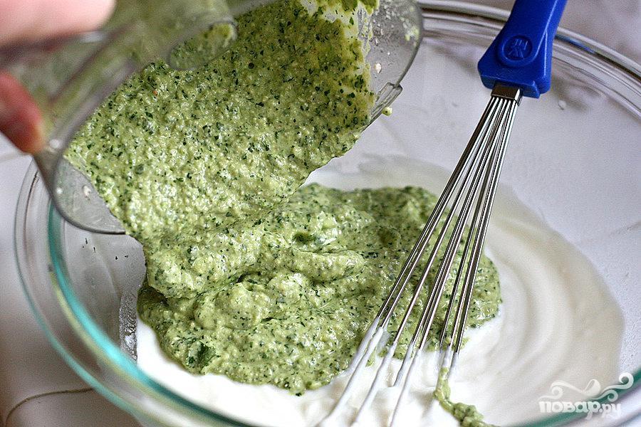 Шашлык из креветок с чили и тыквенными семечками - фото шаг 4