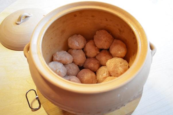 Рагу томленое в глиняном горшочке с фрикадельками из индейки - фото шаг 3