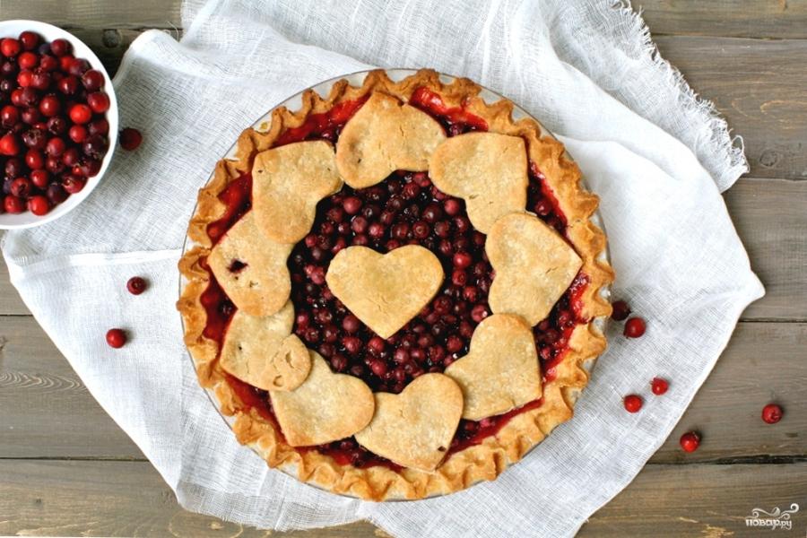 Постный пирог с ягодами - фото шаг 4