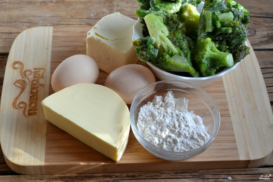Запеканка из брокколи с сыром и яйцами - фото шаг 1