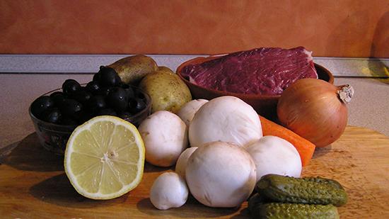 Рецепт Солянка с грибами в мультиварке