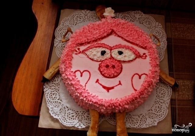 Детский торт для девочки