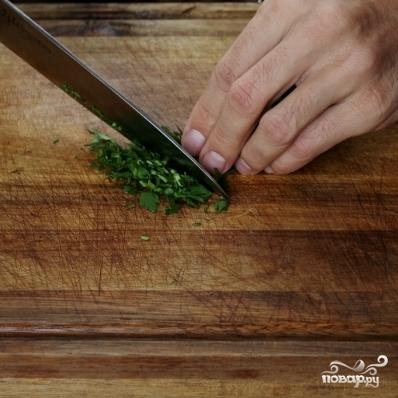 Рецепт Креветки со спаржей