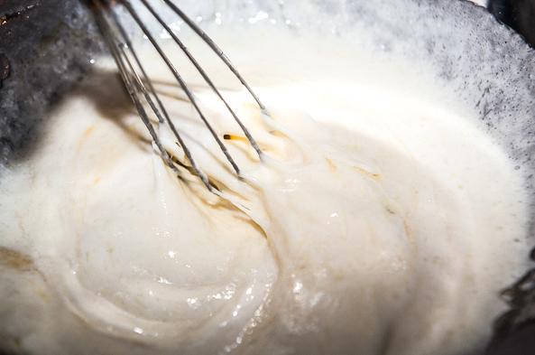 Тесто на кефире с капустой - фото шаг 4