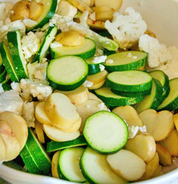 Рецепт Кабачки, запеченные с яйцом и сыром