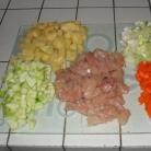 Рецепт Куриный суп с вермишелью по-итальянски