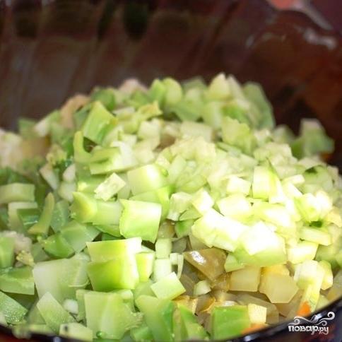 Сытный новогодний салат - фото шаг 15
