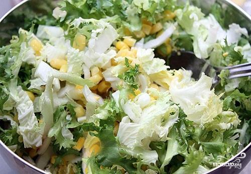 Салат с кукурузой - фото шаг 1