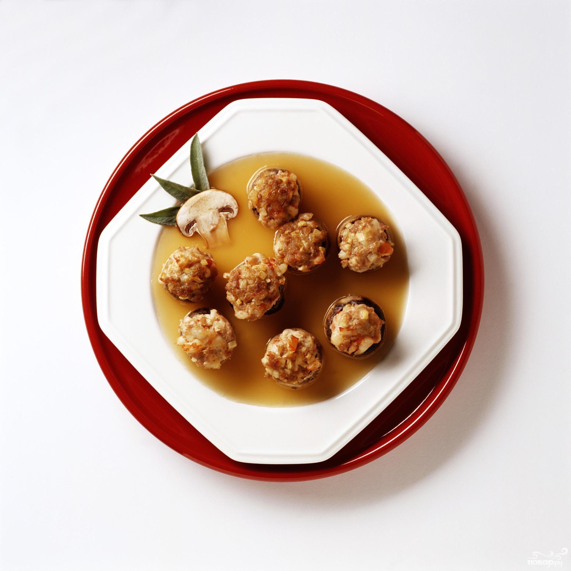 Рецепт Тефтели с капустой и фундуком