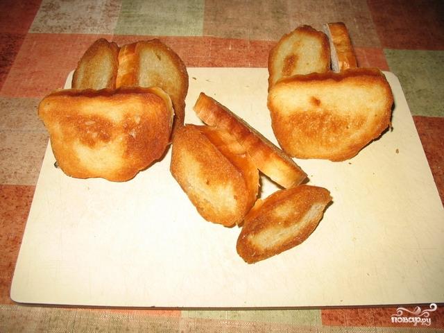 Бутерброды с яйцом и чесноком - фото шаг 2