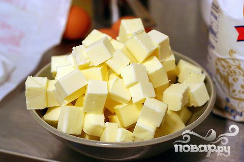Печенье с медом и орехами - фото шаг 1