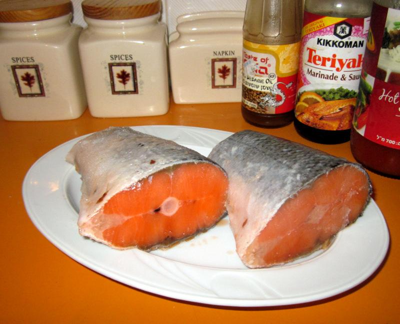 Рецепт Рыба на гриле в микроволновке