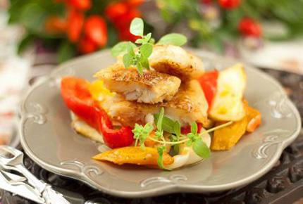 Минтай с овощами в духовке - фото шаг 5