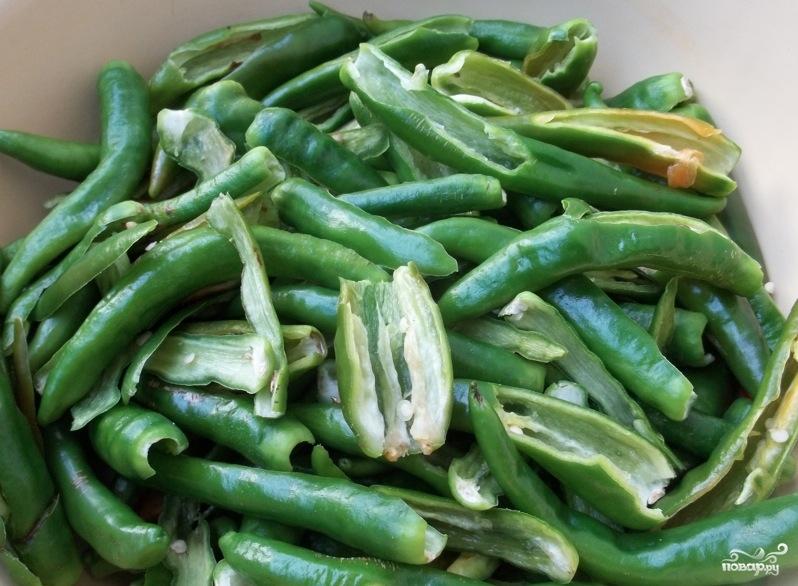 Рецепт Зеленая аджика