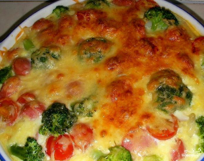 Рецепт капусты брокколи с сыром в мультиварке