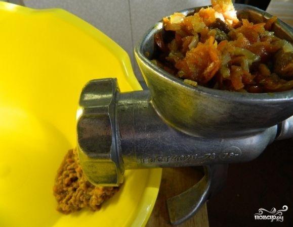 Паштет из говяжей печени с морковью и луком - фото шаг 9