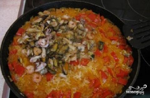 Рис с морепродуктами по-японски - фото шаг 4