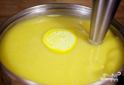 Тыквенный суп-пюре с рисом - фото шаг 8
